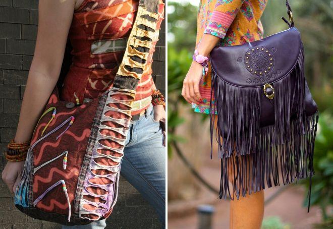 модные женские сумки через плечо 2017