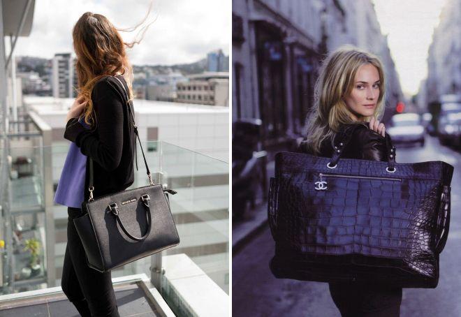большие красивые женские сумки