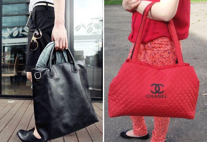 большие сумки для женщин