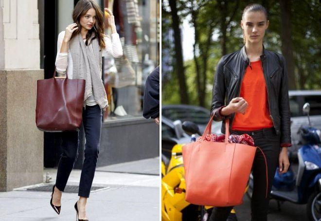 большие сумки шопперы