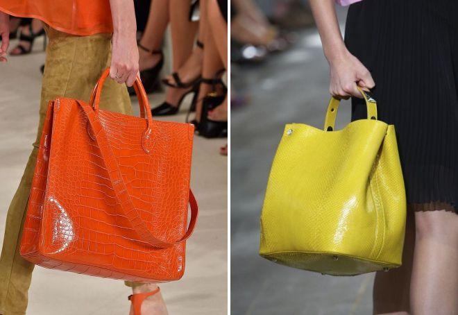 цветные летние сумки