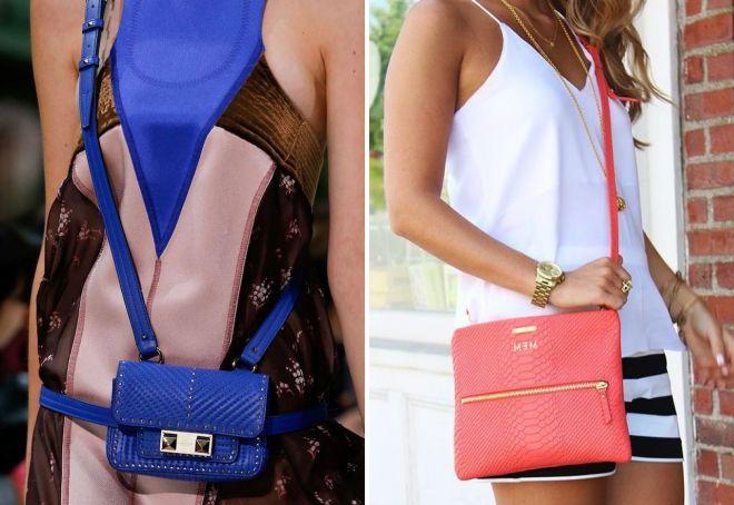 женские летние сумки через плечо