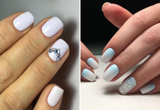 красивый дизайн на короткие ногти 2018