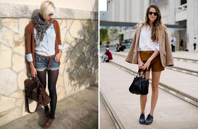 модные женские туфли на шнурках