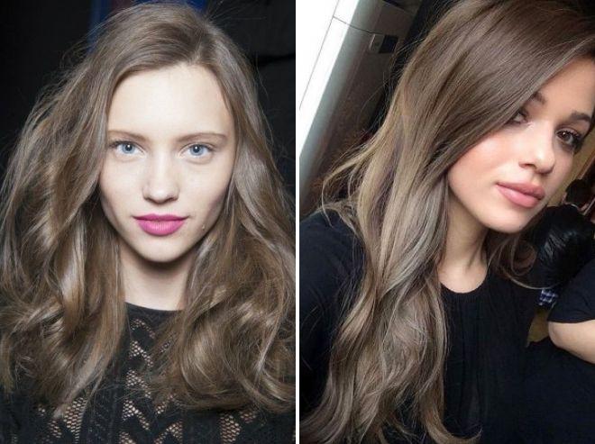 красивый серый цвет волос