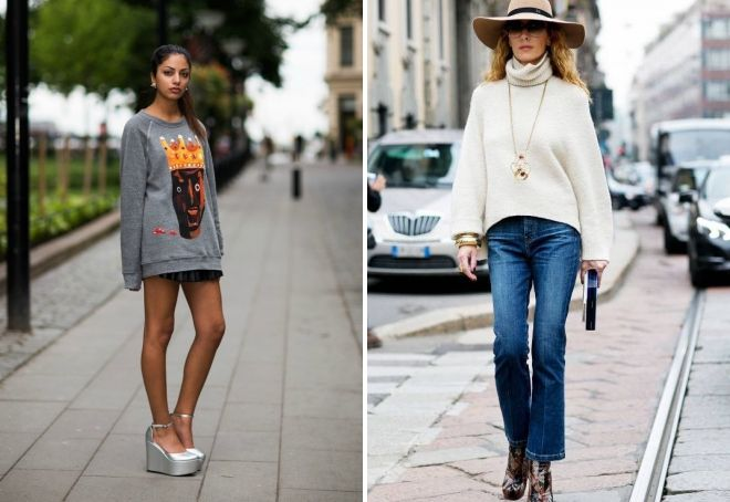 модные вязаные джемпера