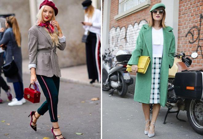 bérets à la mode