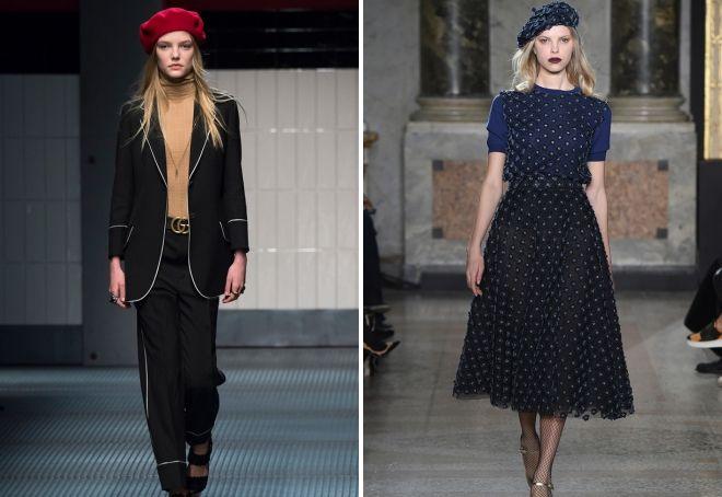 bérets à la mode 2018 2019