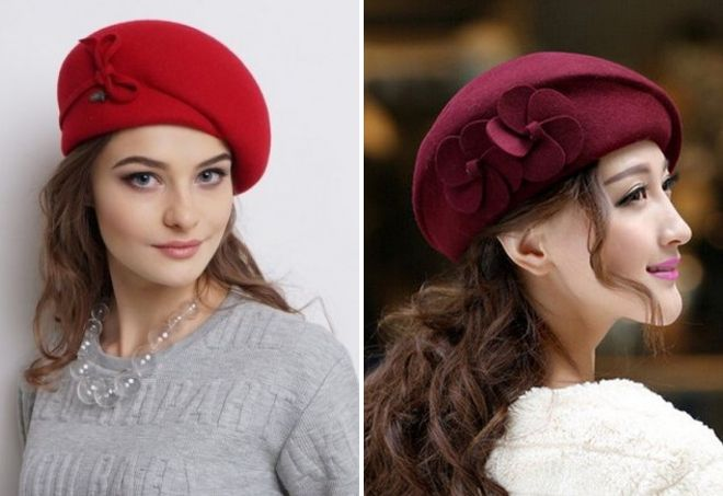 béret féminin français