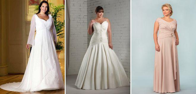свадебные платья 2018 для полных