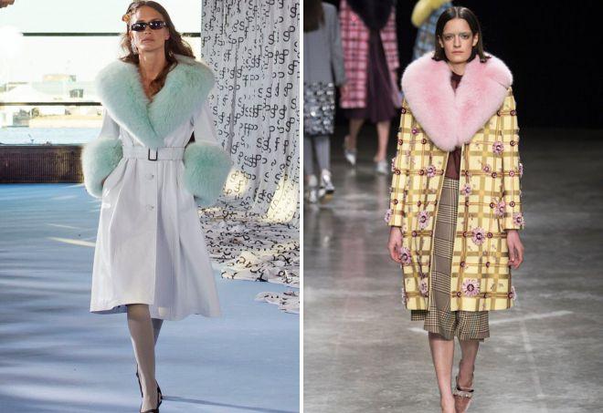 Весна верхняя одежда 2018