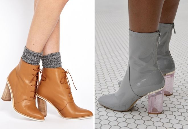 3d138b0f8 Женские ботинки – весна 2019 – на каблуке, плоской подошве ...