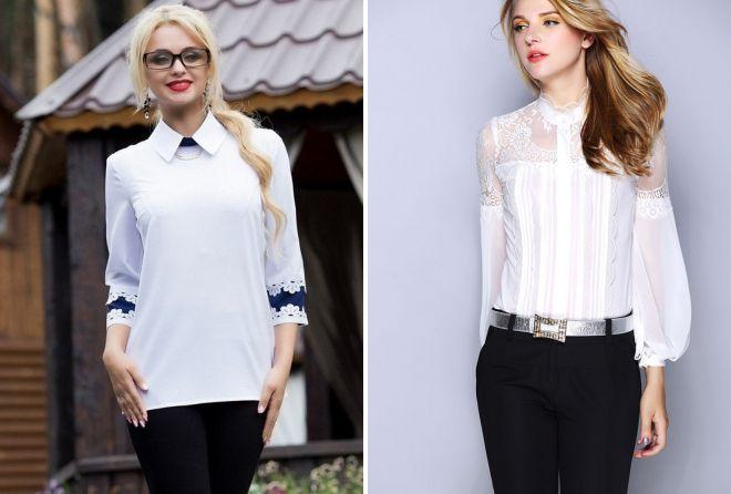 женские офисные рубашки