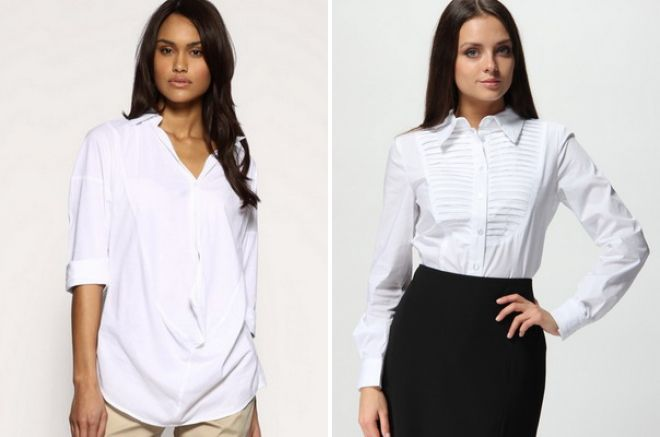 модная женская рубашка для офиса