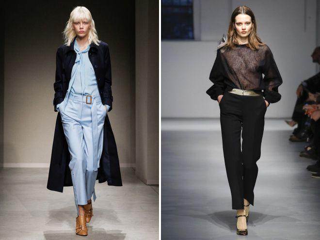 b90530abff3d Укороченные брюки – классические, широкие, прямые, кюлоты, клеш, с ...
