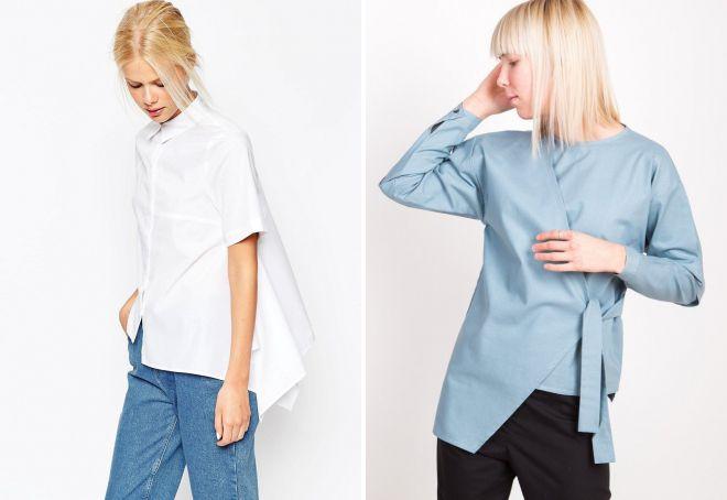женские рубашки 2018