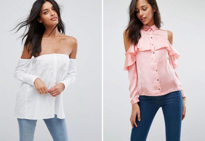 модные рубашки для женщин 2018