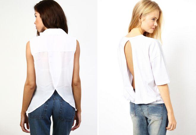 модные рубашки для девушек