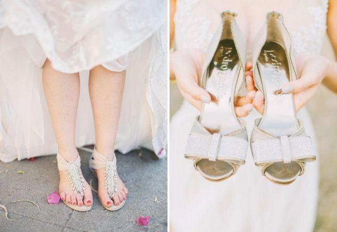 обувь для свадьбы на пляже