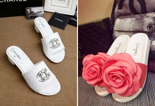 брендовая пляжная обувь