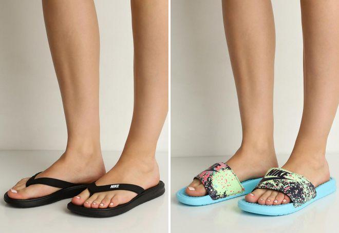пляжная обувь Найк