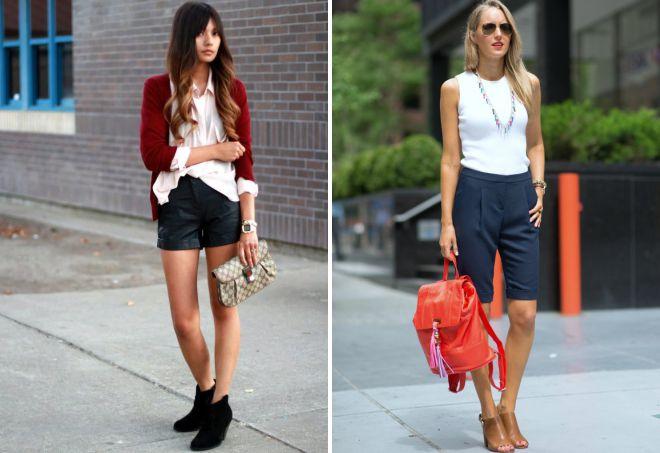 обувь под классические шорты