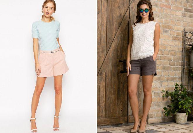 классические летние шорты