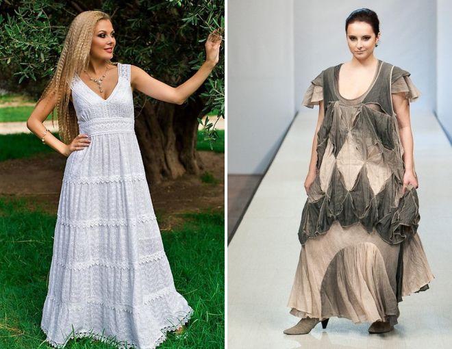 женские платья из хлопка 2018