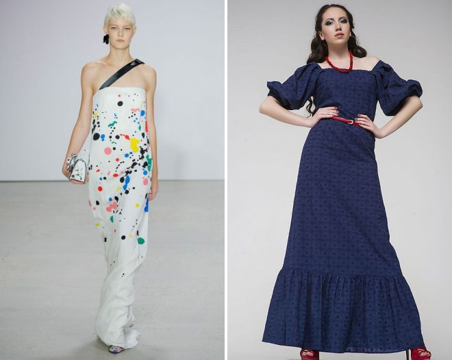 женские платья из хлопка для праздника