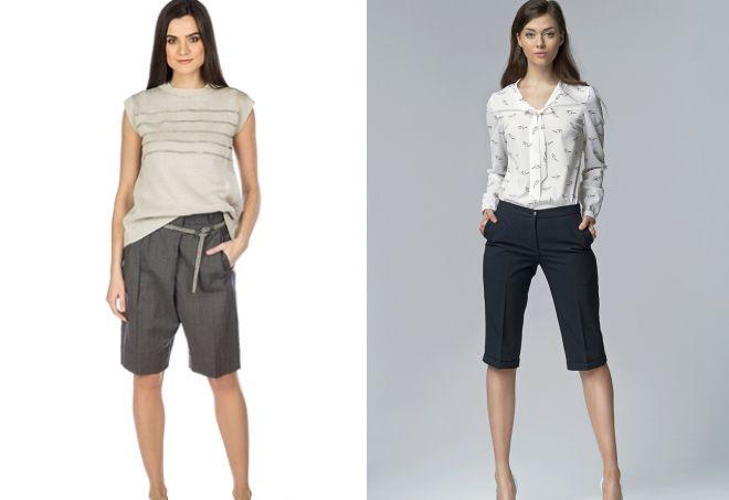классические удлиненные шорты
