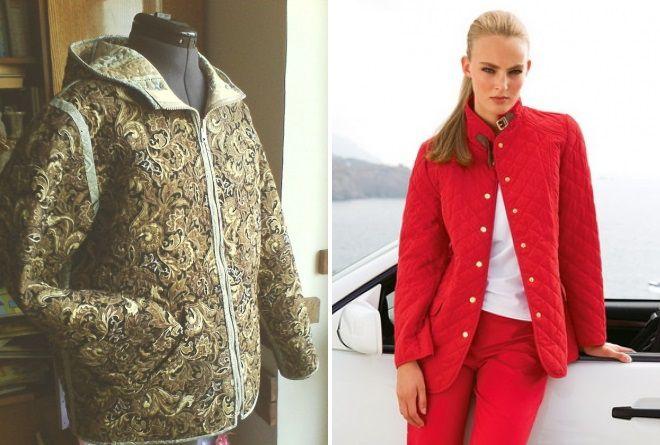 da984aa0b46d Стильная женская стеганая куртка – легкая, осенняя, зимняя, короткая ...