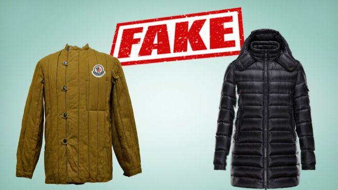 куртка монклер как отличить подделку