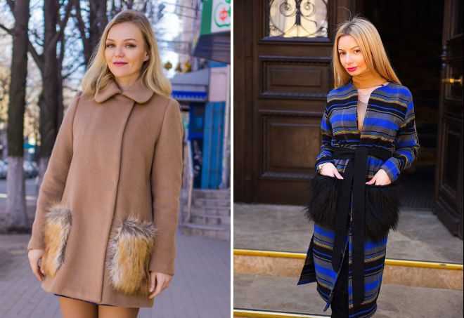 модны ли пальто с меховыми карманами