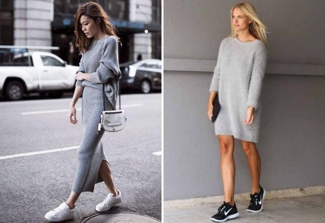 098906044a6 ... с какой обувью носить платье свитер