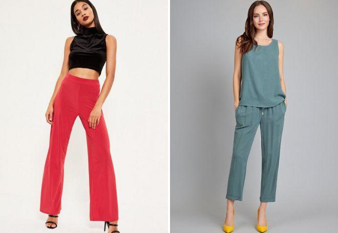 классические брюки для женщин