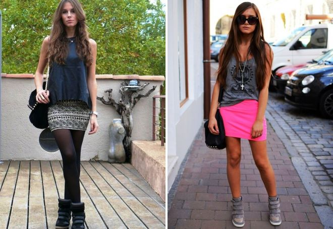 d74690b8 Hva å bære med joggesko og hvordan å skape et stilig utseende?