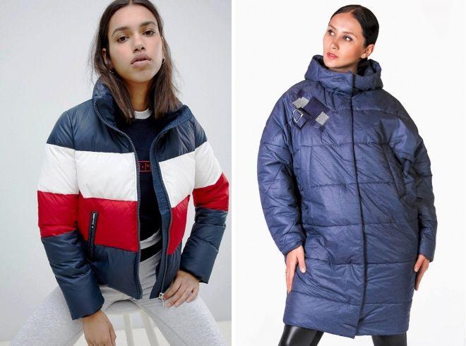 дутые куртки 2019
