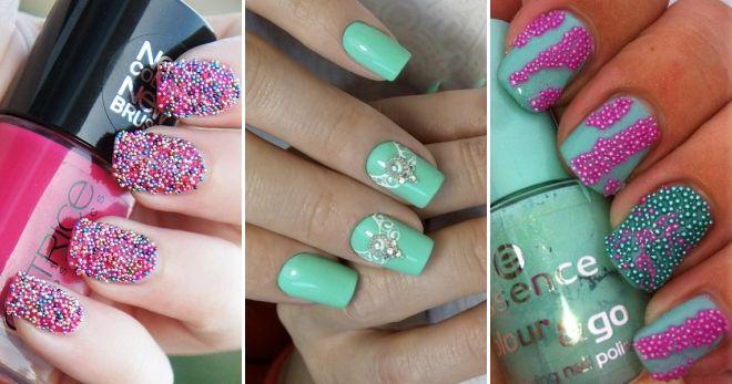 Idea manicure bru terang