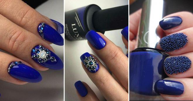 Idea Manicure Blue Broth
