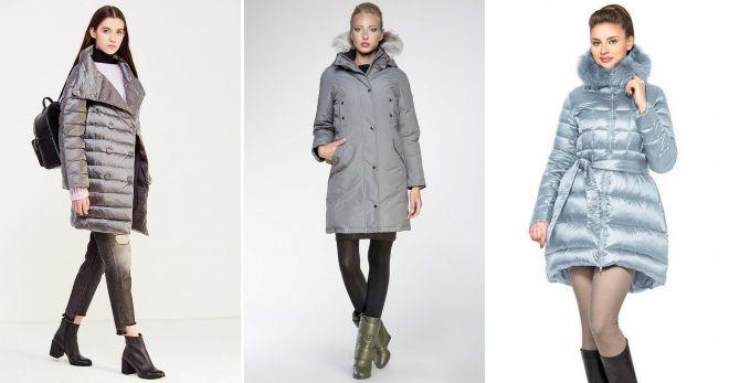 Šta mogu nositi s sivom jaknom do kolena