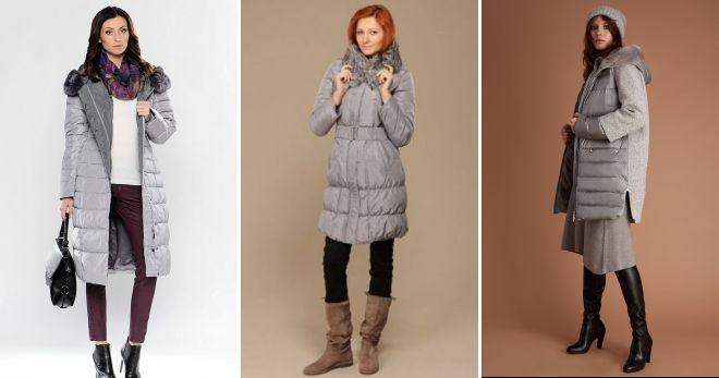 Šta kombinirati sivu jaknu