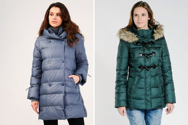 warm hooded down jackets