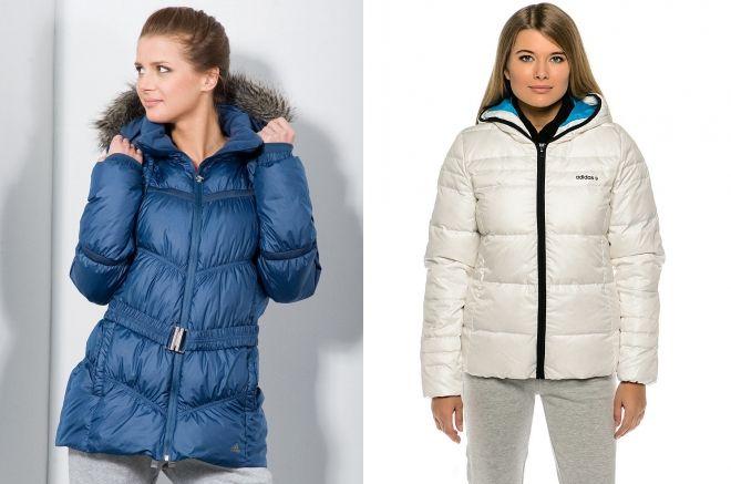 adidas warm down jacket