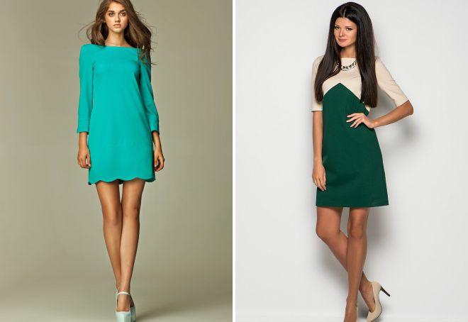 a5fa341c5c4 красивые короткие прямые платья ...