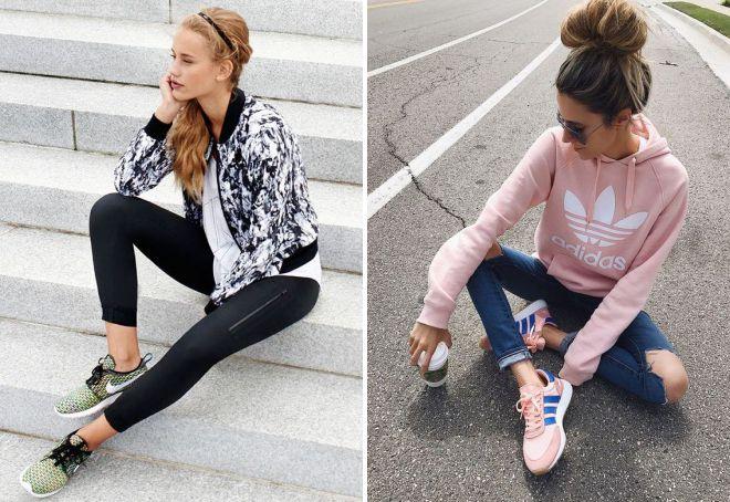 модные коллекции кроссовок 2018