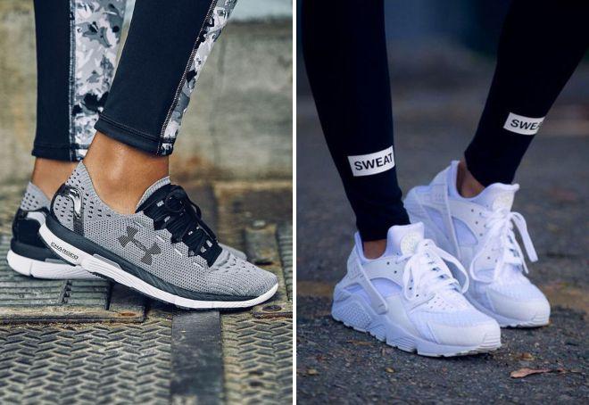 какие кроссовки модные в 2018