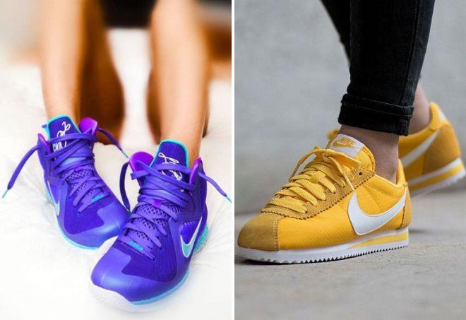 женские кроссовки найк 2018