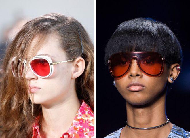 tendances lunettes de soleil 2018
