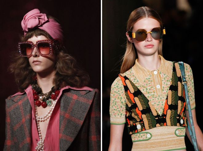 lunettes de soleil à la mode 2018