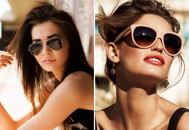 2faae2023b4d Модные женские брендовые солнцезащитные очки 2017 – Диор и Шанель ...